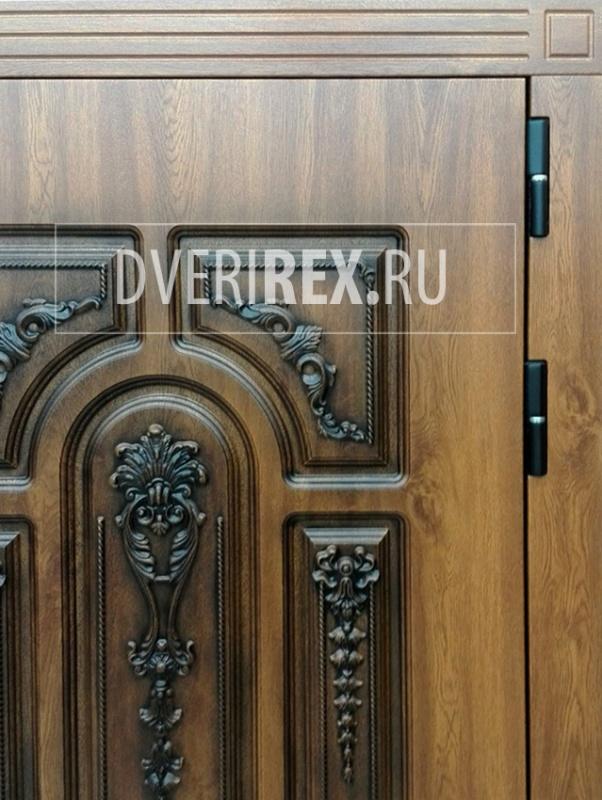 Входные двери с объемными панелями