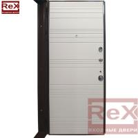 REX-14 ясень шоколадный с зеркалом 0