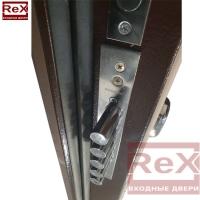 REX-14 ясень шоколадный с зеркалом 1