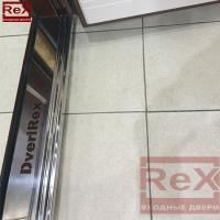 REX-14 ясень шоколадный с зеркалом 2
