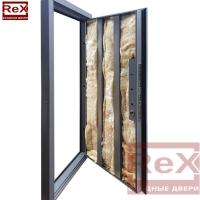 REX-14 ясень шоколадный с зеркалом 3