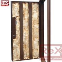 REX-16 ясень шоколадный с зеркалом 0