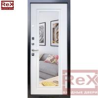ReX Отлант с зеркалом ФЛЗ-120 белый ясень 2